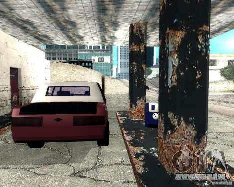 Derby Greenwood Killer für GTA San Andreas rechten Ansicht