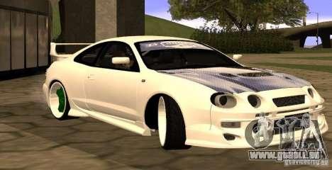Toyota Celica 1993 Light tuning pour GTA San Andreas laissé vue