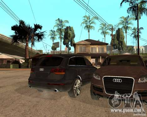 Audi Q7 4.2 FSI für GTA San Andreas rechten Ansicht