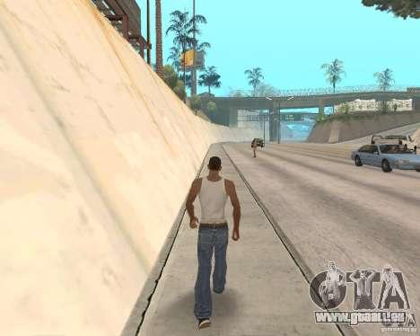 Sprint System v1.0 für GTA San Andreas dritten Screenshot