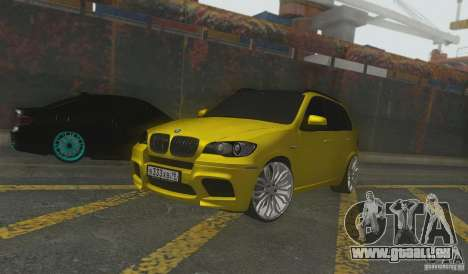 BMW X5M Gold Smotra v2.0 für GTA San Andreas