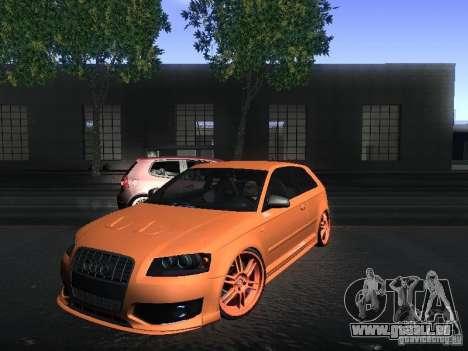 Audi S3 für GTA San Andreas