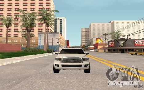 Toyota Sequoia 2011 für GTA San Andreas linke Ansicht