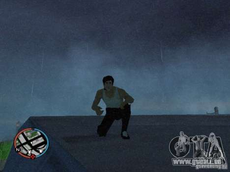 Bruce Lee-Haut für GTA San Andreas zweiten Screenshot