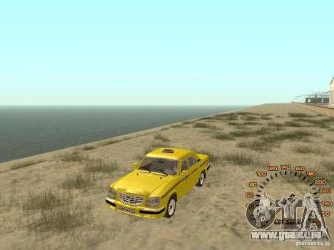 GAZ-31105 taxi pour GTA San Andreas