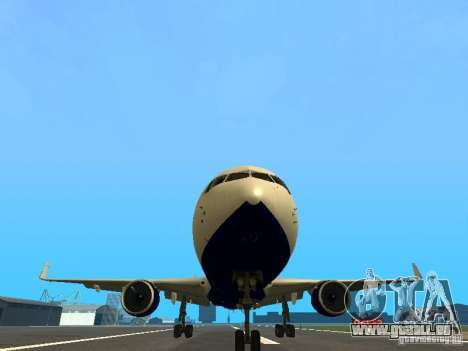 Boeing 767-300 British Airways für GTA San Andreas Seitenansicht