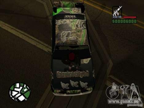 Nouveau vinyle pour Cultana pour GTA San Andreas laissé vue