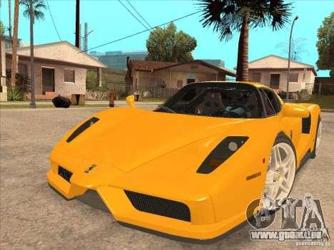 Ferrari Enzo 2010 für GTA San Andreas zurück linke Ansicht