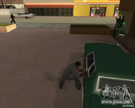 Car in Grove Street für GTA San Andreas zwölften Screenshot