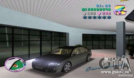 Volkswagen Passat B5+ W8 pour GTA Vice City