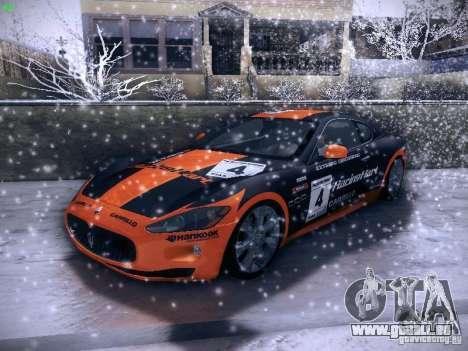 Maserati Gran Turismo S 2011 V2 für GTA San Andreas Seitenansicht