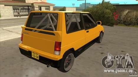 Suzuki Alto Euro für GTA San Andreas rechten Ansicht