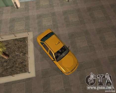 Daewoo Nexia Taxi pour GTA San Andreas vue de droite