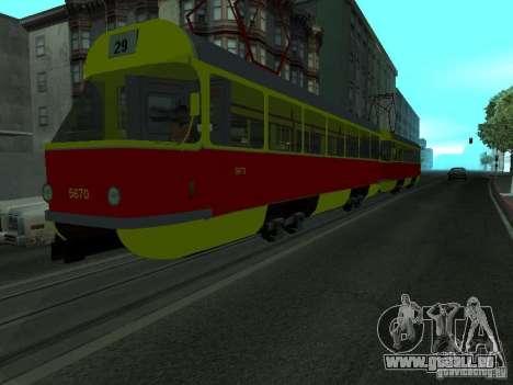 Tatra T3SU für GTA San Andreas