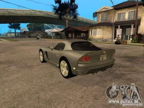 Dodge Viper Coupe 2008 für GTA San Andreas linke Ansicht