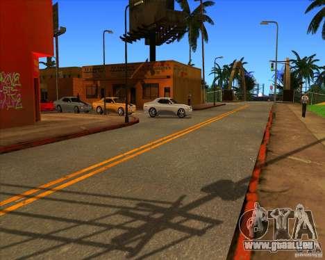 Cadre magnifique ENBSeries pour GTA San Andreas septième écran