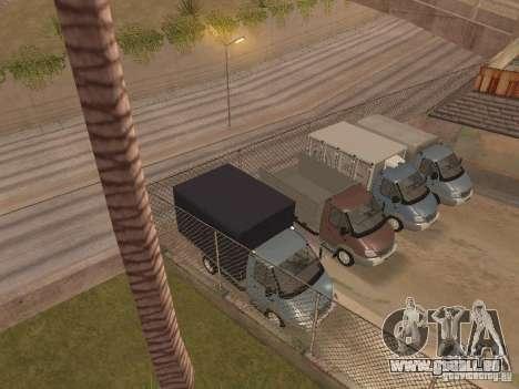 GAS-3310 Valdai für GTA San Andreas Seitenansicht