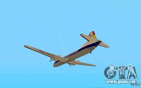 YS-11 pour GTA San Andreas laissé vue