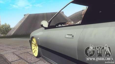 Peugeot 406 Rat Style pour GTA San Andreas sur la vue arrière gauche