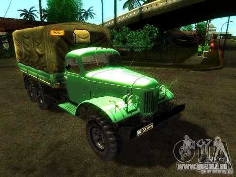 ZIL 157 Truman pour GTA San Andreas