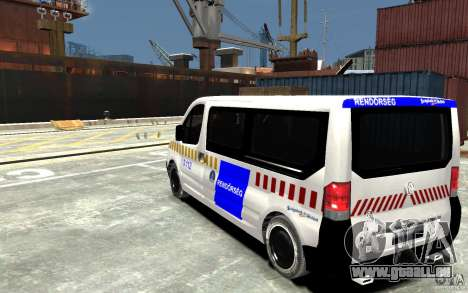 Opel Vivaro Hungarian Police Van für GTA 4 hinten links Ansicht