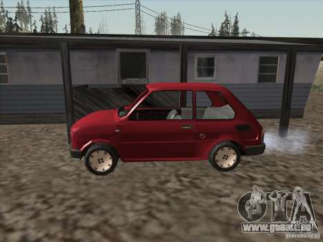Fiat 126p Elegant für GTA San Andreas linke Ansicht