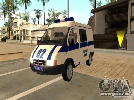 GAZ 2217 Sobol Polizei für GTA San Andreas