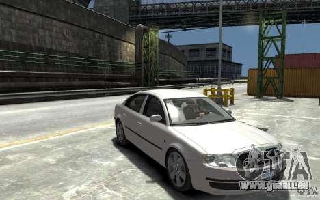 Skoda SuperB pour GTA 4 Vue arrière