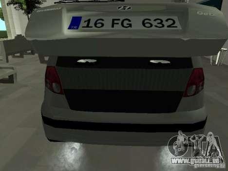 Hyundai Getz für GTA San Andreas Seitenansicht