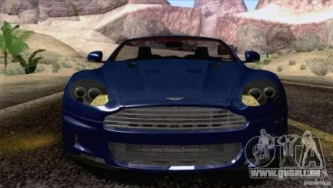 Aston Martin DBS Volante 2009 pour GTA San Andreas vue de côté