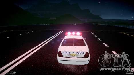 Ford Crown Victoria New Jersey State Police pour GTA 4