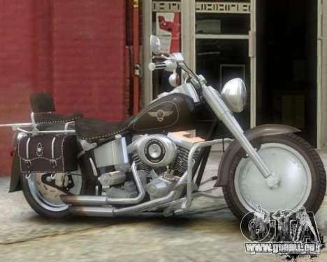 Harley Davidson FLSTF Fat Boy pour GTA 4 est une gauche