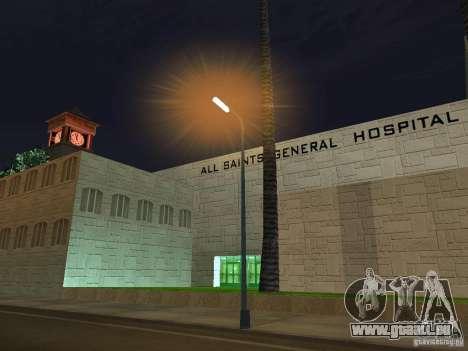 Neue Krankenhaus-Krankenhauses für GTA San Andreas zweiten Screenshot