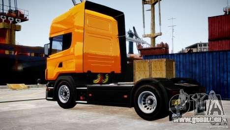 Scania R500 für GTA 4 hinten links Ansicht