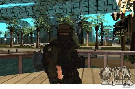 Les Forces spéciales Berkrut pour GTA San Andreas