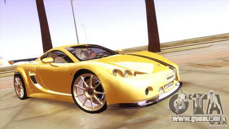 Ascari A10 für GTA San Andreas Rückansicht