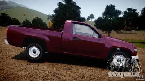 Chevrolet Colorado 2005 pour GTA 4 est une gauche