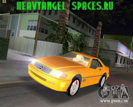 Mercedes-Benz SL600 1999 pour GTA Vice City