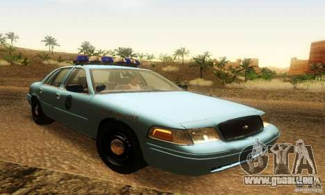 Ford Crown Victoria Maine Police pour GTA San Andreas