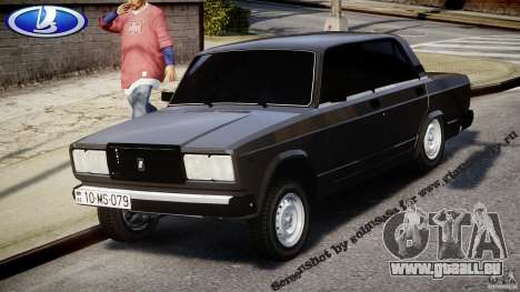 VAZ-2107 Avtosh style pour GTA 4