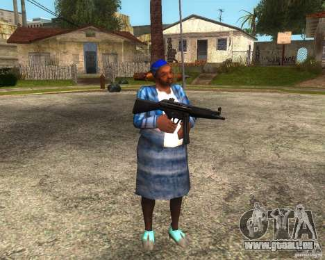 Gangsta Granny für GTA San Andreas her Screenshot
