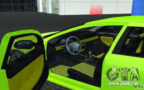 Volga Siber 2.5 AT Restailing pour GTA San Andreas laissé vue