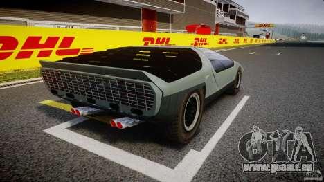 Alfa Romeo Carabo pour GTA 4 est une vue de l'intérieur