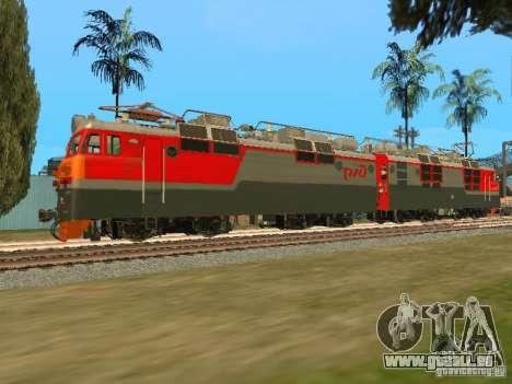 Vl80m-1785, chemins de fer russes pour GTA San Andreas laissé vue