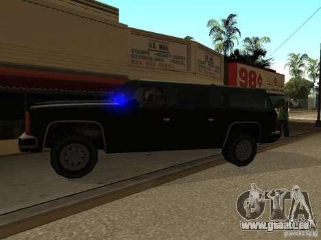 Flics camouflés pour GTA San Andreas deuxième écran
