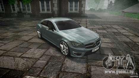 Mercedes Benz CLS 63 AMG 2012 für GTA 4 Innenansicht