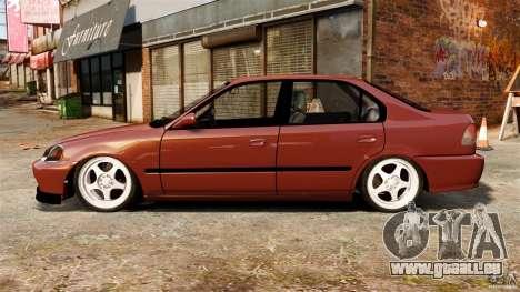 Honda Civic iES pour GTA 4 est une gauche