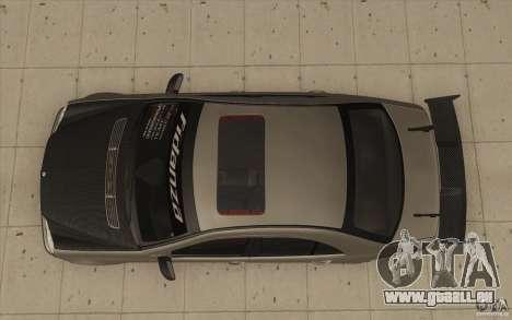 Mercedes-Benz C32 AMG Tuning pour GTA San Andreas vue de droite