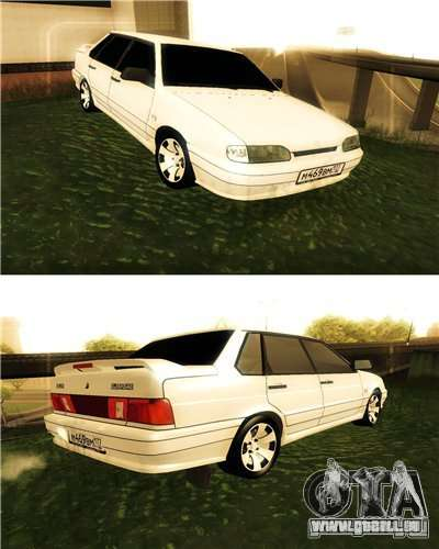 VAZ 2115 restylage 2010 pour GTA San Andreas