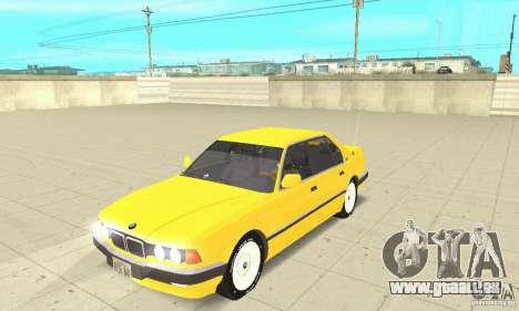 BMW 750I E32 für GTA San Andreas
